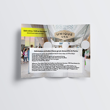 Unique Market Brochure